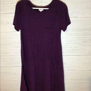 Lularoe plum Carly dress